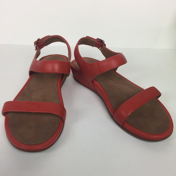 0f061d6d075bc2 New Red Orange Fitflop Sandals Euro 38 7 US